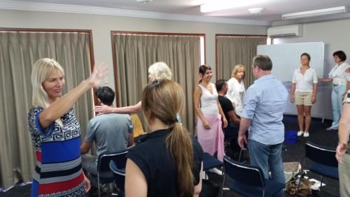 Pranic Healing students
